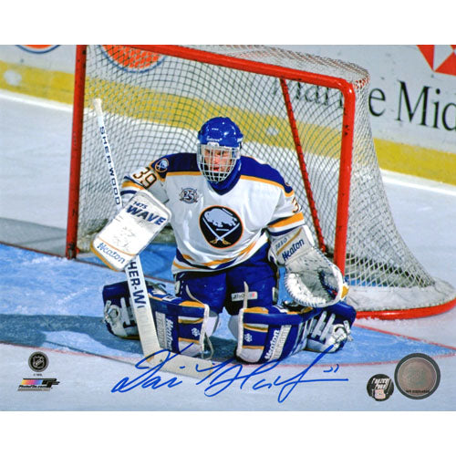 Dominik Hasek Autographed Buffalo Sabres 8X10 Photo