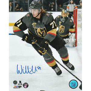 William Karlsson Autographed Vegas Golden Knights 8X10 Photo