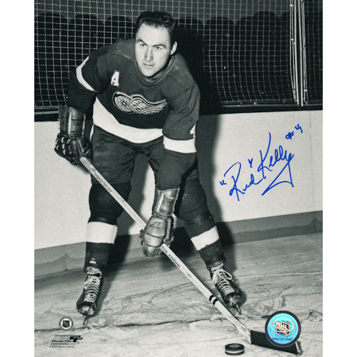 Red Kelly (deceased) Autographed Detroit Red Wings 8X10 Photo