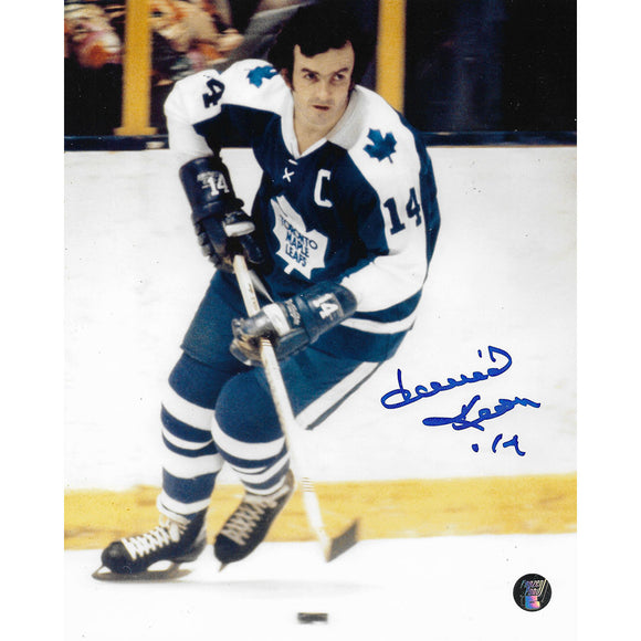 Dave Keon Autographed Toronto Maple Leafs 8X10 Photo (Photo 2)