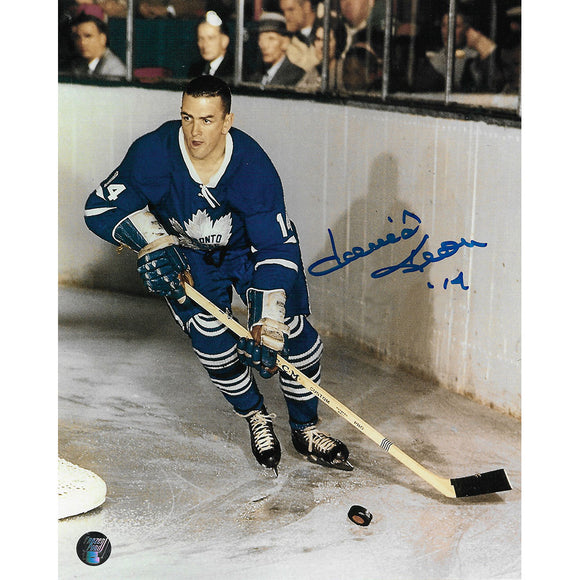 Dave Keon Autographed Toronto Maple Leafs 8X10 Photo (Young)