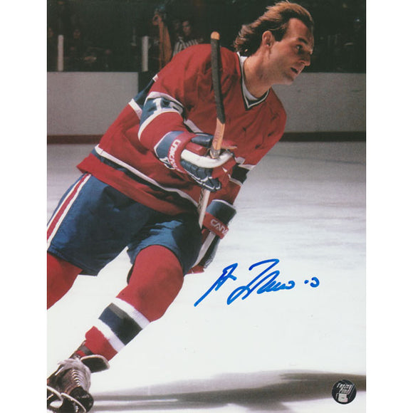 Guy Lafleur Autographed Montreal Canadiens 8X10 Photo (Photo 2)