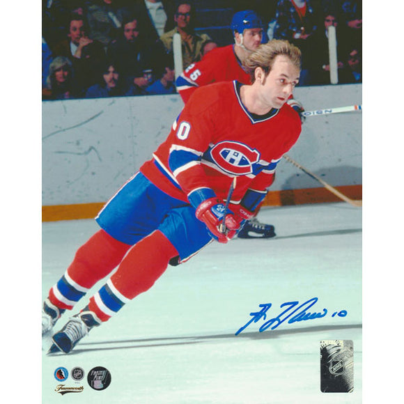 Guy Lafleur Autographed Montreal Canadiens 8X10 Photo (Photo 3)