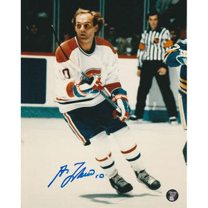Guy Lafleur Autographed Montreal Canadiens 8X10 Photo