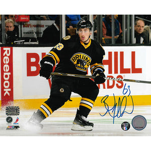 Brad Marchand Autographed Boston Bruins 8X10 Photo