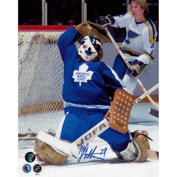 Mike Palmateer Autographed Toronto Maple Leafs 8X10 Photo