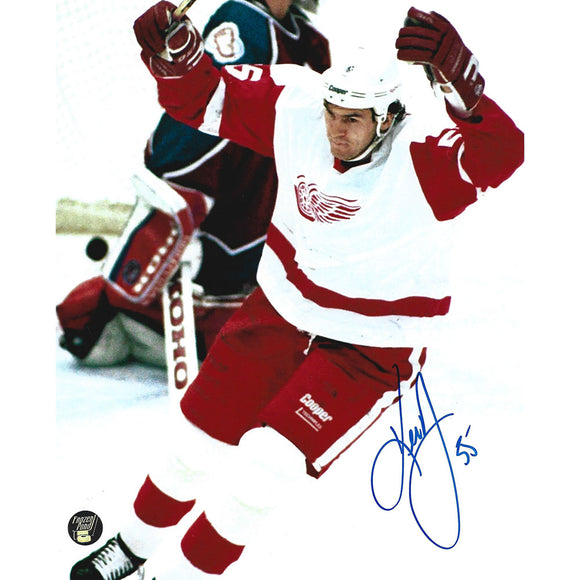 Keith Primeau Autographed Detroit Red Wings 8X10 Photo