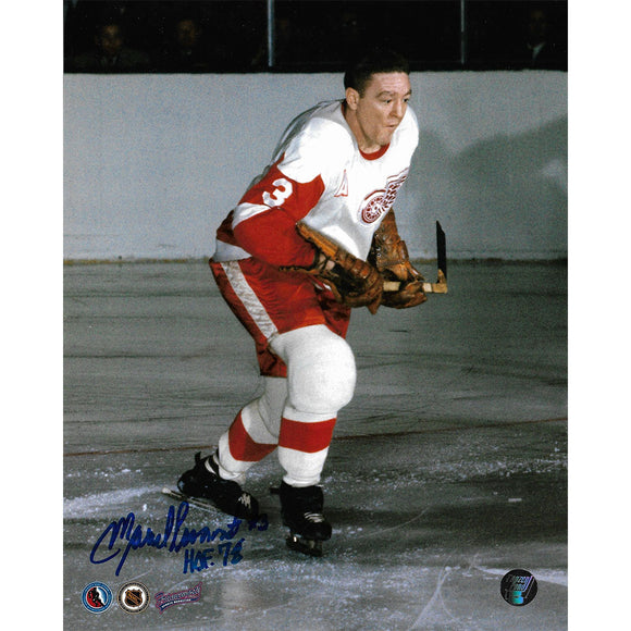 Marcel Pronovost (deceased) Autographed Detroit Red Wings 8X10 Photo