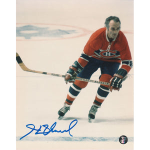 Henri Richard (deceased) Autographed Montreal Canadiens 8X10 Photo