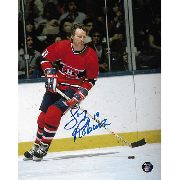 Larry Robinson Autographed Montreal Canadiens 8X10 Photo