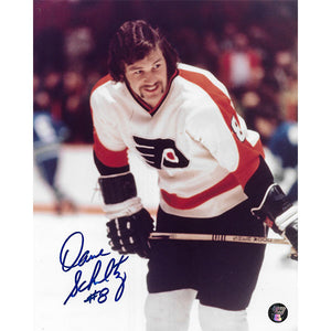 Dave Schultz Autographed Philadelphia Flyers 8X10 Photo