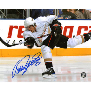 Teemu Selanne Autographed Anaheim Ducks 8X10 Photo
