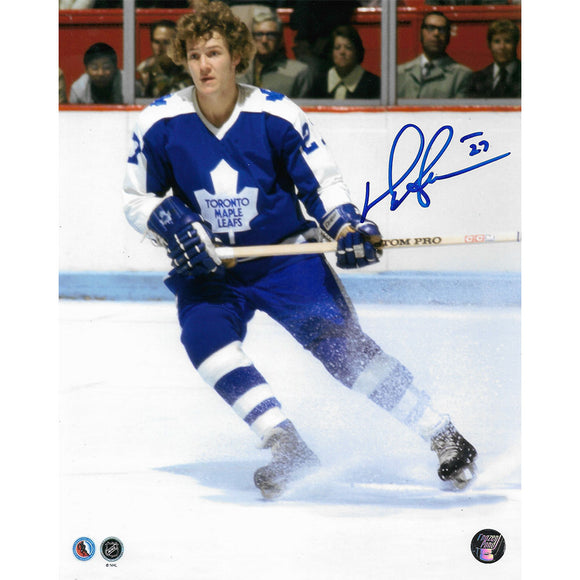 Darryl Sittler Autographed Toronto Maple Leafs 8X10 Photo