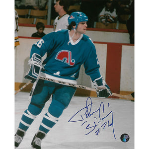 Peter Stastny Autographed Quebec Nordiques 8X10 Photo
