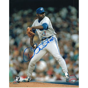 Dave Stewart Autographed Toronto Blue Jays 8X10 Photo