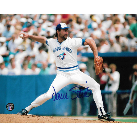 Dave Stieb Autographed Toronto Blue Jays 8X10 Photo