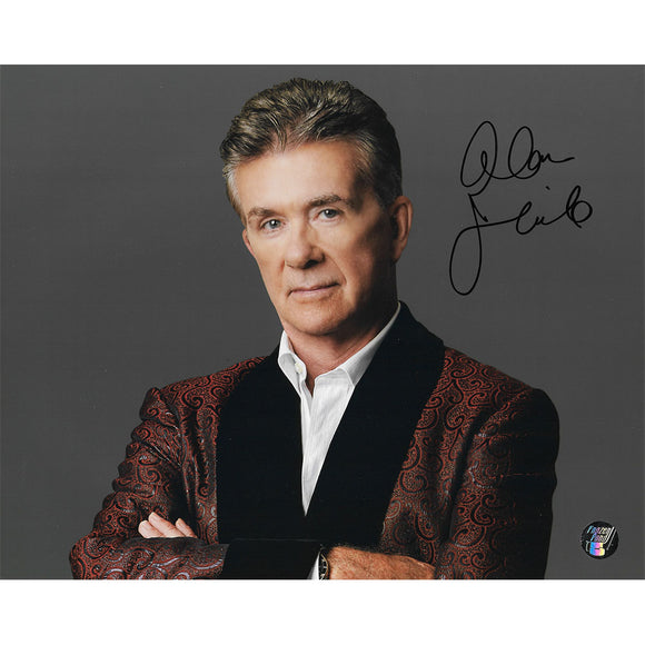 Alan Thicke (deceased) Autographed 8X10 Photo