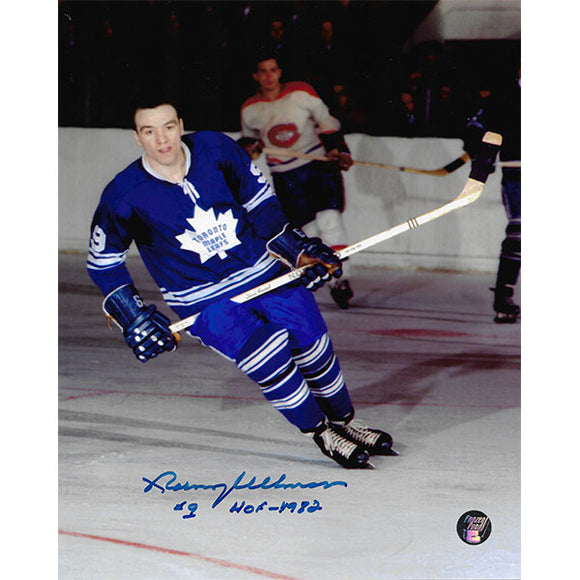 Norm Ullman Autographed Toronto Maple Leafs 8X10 Photo