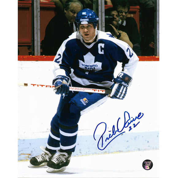 Rick Vaive Autographed Toronto Maple Leafs 8X10 Photo