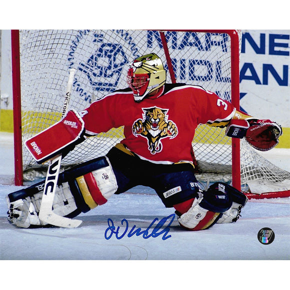John Vanbiesbrouck Autographed Florida Panthers 8X10 Photo