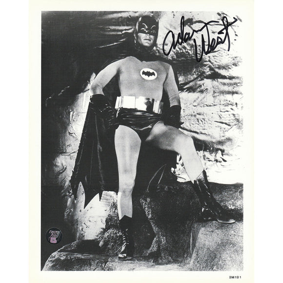 Adam West (deceased) Autographed Batman 8X10 Photo