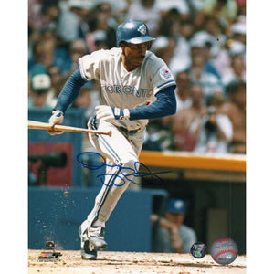 Devon White Autographed Toronto Blue Jays 8X10 Photo