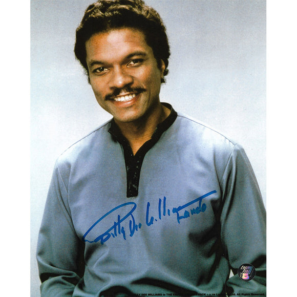 Billy Dee Williams Autographed Star Wars 8X10 Photo (posed)