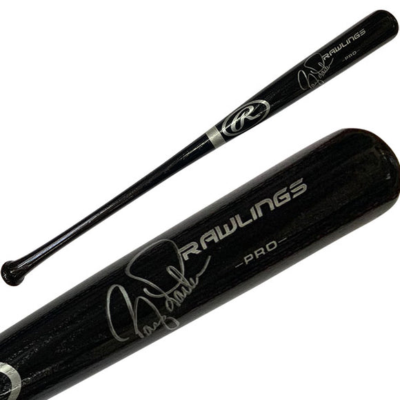 Barry Larkin Autographed Bat