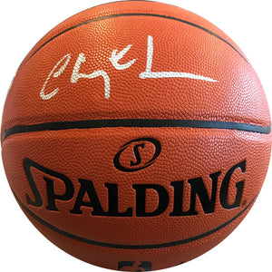 Chevy Chase Autographed Spalding Official Basketball