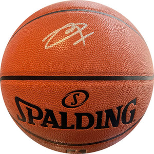 Joel Embiid Autographed Spalding Official Basketball