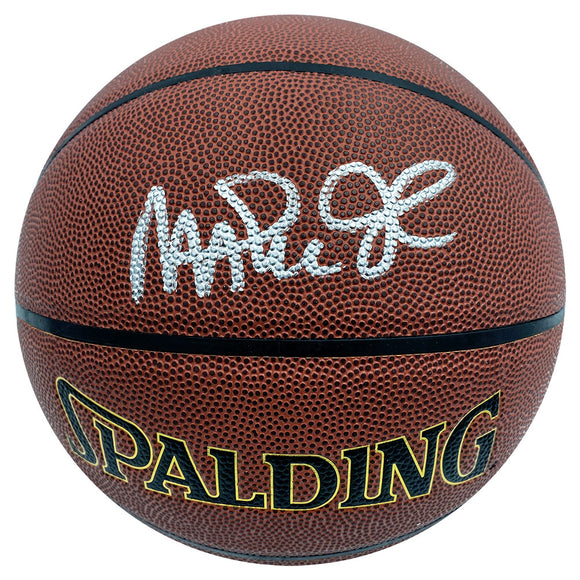 Magic Johnson Autographed Spalding Basketball