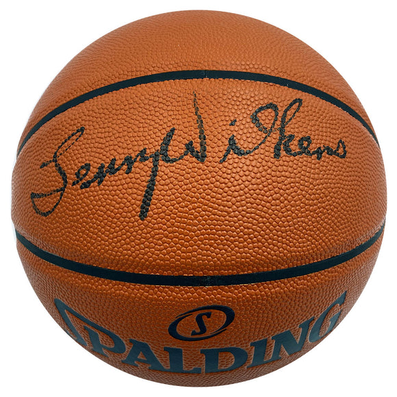 Lenny Wilkens Autographed Spalding Basketball