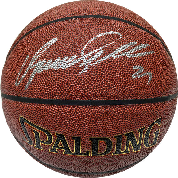 Dominique Wilkins Autographed Spalding Official Basketball