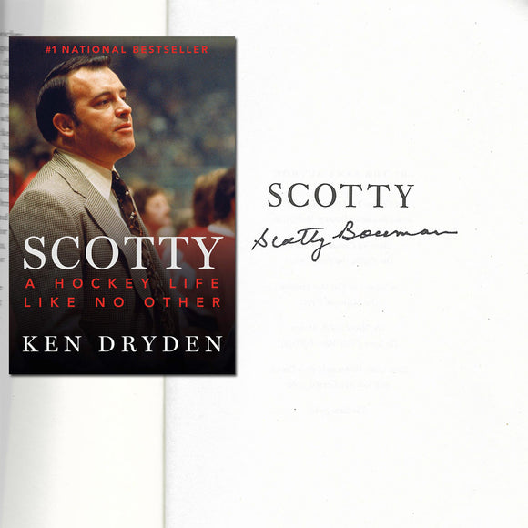 Scotty Bowman 'Scotty' Autographed Book