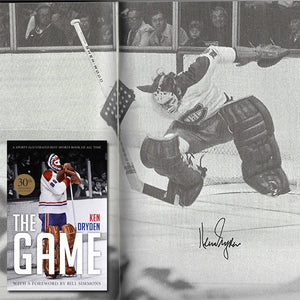 Ken Dryden 'The Game' Autographed Book