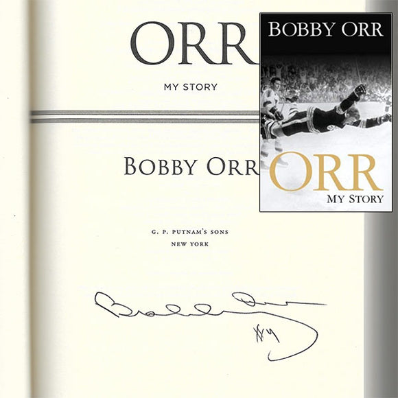 Bobby Orr Autographed 'My Story' Book