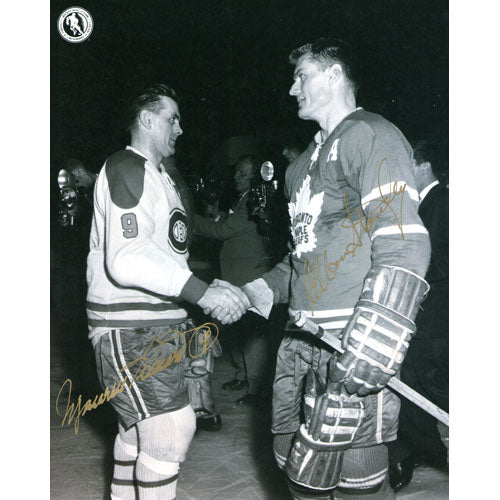 Maurice Richard/Allan Stanley Autographed 8X10 Combo Photo