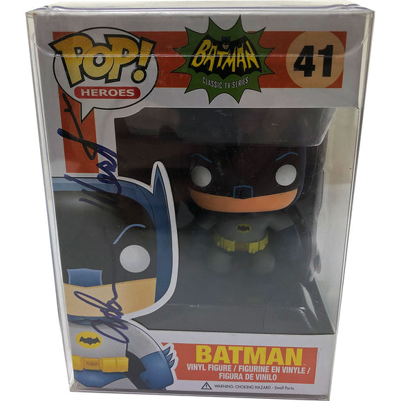 Adam West (deceased) Autographed Batman Funko Pop! Figure