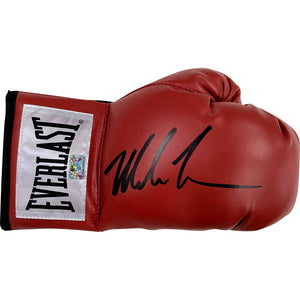 Mike Tyson Autographed Boxing Glove (Red)