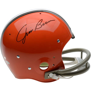 Jim Brown Autographed Cleveland Browns Helmet
