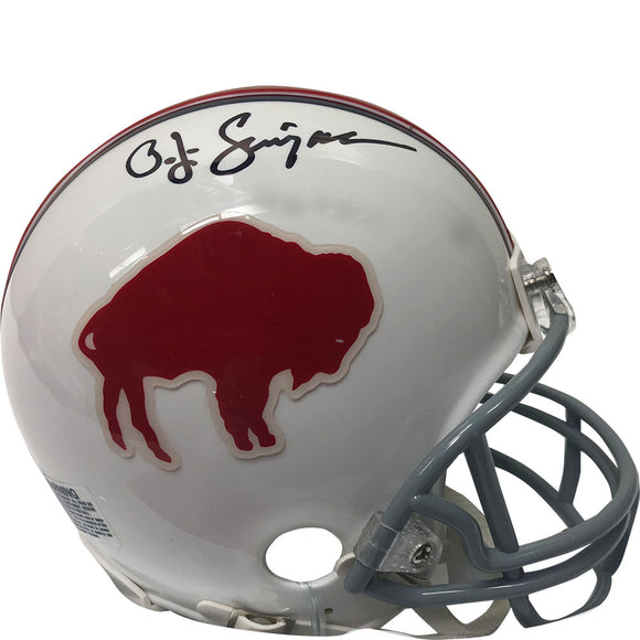 O.J. Simpson Autographed Buffalo Bills Mini-Helmet