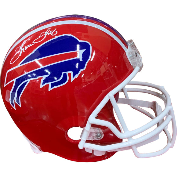 Thurman Thomas Autographed Buffalo Bills Helmet