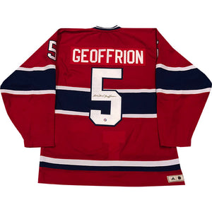 Bernie Geoffrion (deceased) Autographed Montreal Canadiens Pro Jersey