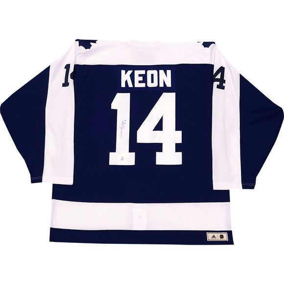 Dave Keon Autographed Toronto Maple Leafs Pro Jersey