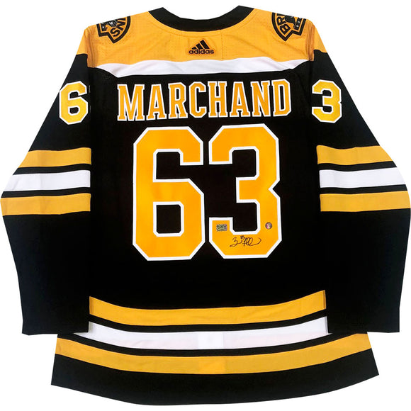 Brad Marchand Autographed Boston Bruins Pro Jersey