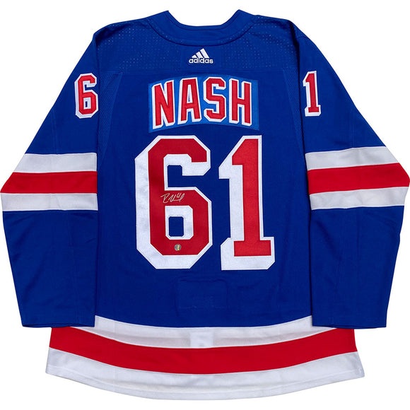 Rick Nash Autographed New York Rangers Pro Jersey