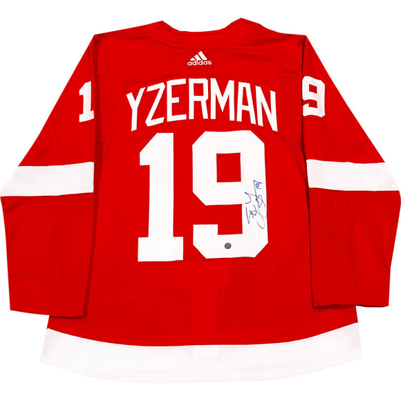Steve Yzerman Autographed Detroit Red Wings Pro Jersey