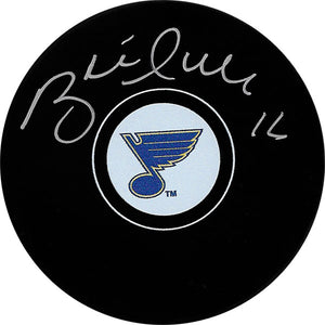 Brett Hull Autographed St. Louis Blues Puck