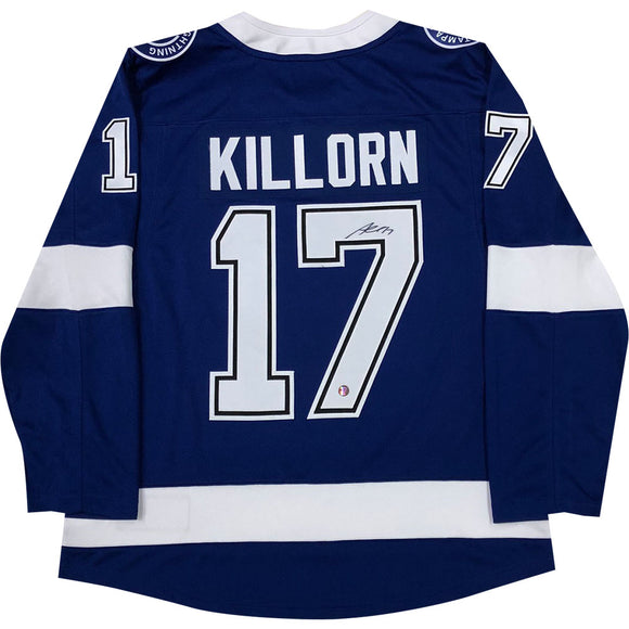 Alex Killorn Autographed Tampa Bay Lightning Replica Jersey