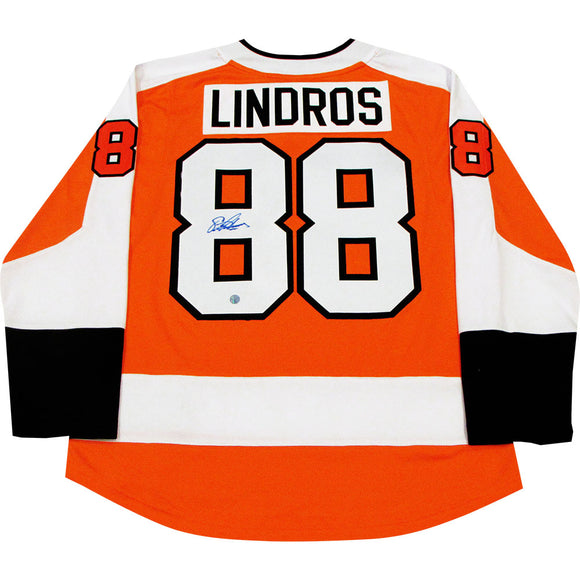 Eric Lindros Autographed Phildelphia Flyers Replica Jersey